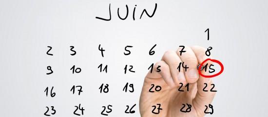 N'oubliez pas d'acquitter vos acomptes de CET pour le 15juin2018!